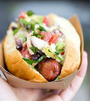 Tex-Mex Rancheros Hot Dogs