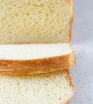 Homemade Brioche Loaf Bread