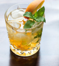Peach Mint Old Fashioned