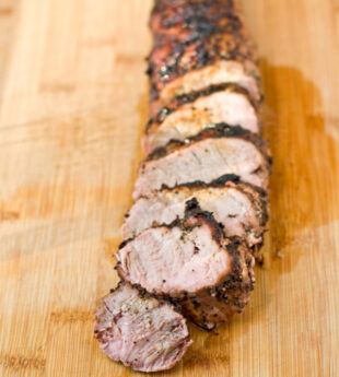 Coffee-Rubbed Pork Tenderloin