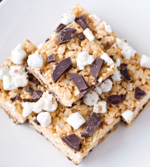 S'mores Rice Krispies Treats