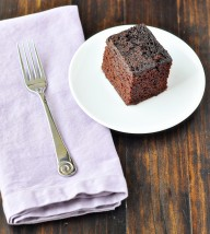 Coffee Cocoa Snack Cake