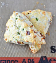 Bacon, Pepper Jack and Jalapeno Scones
