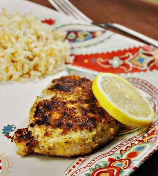 Garlic and Lemon Pan Fried Chicken