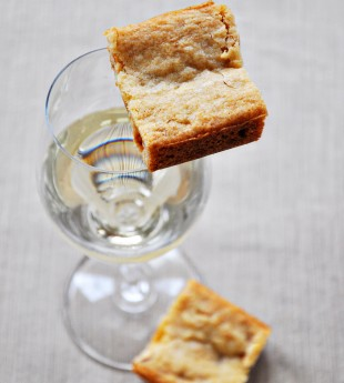 Oak Bars (Blondies with Chardonnay)