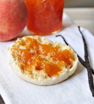 Peach Vanilla Bean Jam
