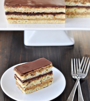 Opera Cake for Amy's Virtual Shower