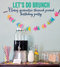 Let's do Brunch: Clara's Second Birthday