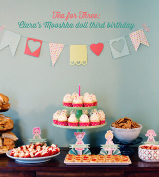 Tea for Three: Clara's Third Birthday