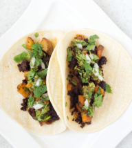 Crispy Potato and Chorizo Tacos